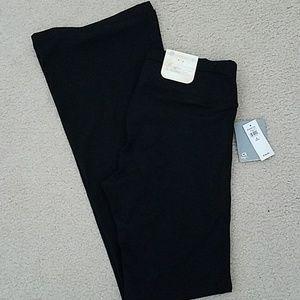 Black bootcut GapFit pants